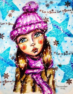 Creative Creations by Andrea Gomoll | December Daily Artjournal 2014: December 14th | http://andrea-gomoll.de