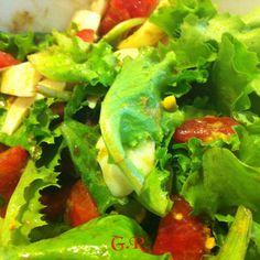 A healty dinner... #cena #dinner #salad #insalata
