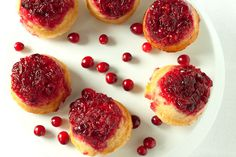 Cranberry Upside Down Muffins by Back to the Cutting Board, via Flickr
