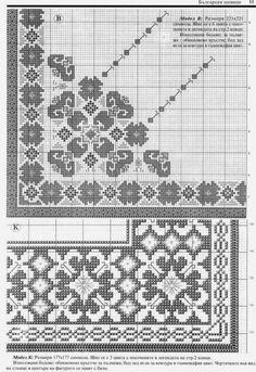 Folk Embroidery, Cross Stitch Embroidery, Embroidery Patterns, Cross Stitch Borders, Cross Stitching, Cross Stitch Patterns, Cross Stitch Freebies, Crochet Flower Patterns, Arte Popular