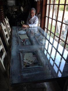 Aus einer alten Tür machen Sie die coolsten Tische. Lassen Sie sich durch diese großartigen Beispiele inspirieren!