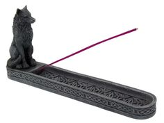 This Werewolf Gargoyle Incense Burner Holder has the finest details and highest quality you will find anywhere! Werewolf Gargoyle Incense Burner Holder Features Perfect gift for those that love Incense Holder. Wolf Sitting, Dragon Incense Burner, Ceramic Incense Holder, Celtic Knot Designs, Celtic Dragon, Faux Stone, Statue, Collectible Figurines, Werewolf