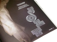 DAZED & CONFUSED / CUSTOM FONT by Andrea Wirth, via Behance