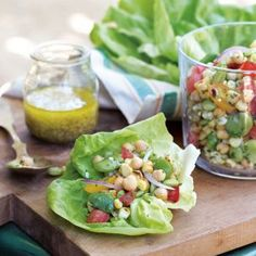 Sonoma Succotash Salad - use favorite salad dressing or olive oil and white wine vinegar