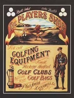 The Players Shop Vintage Tin Sign