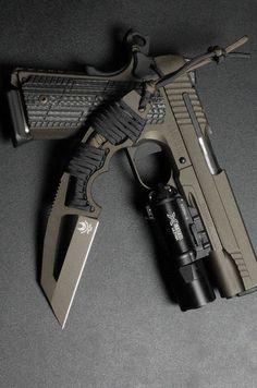 Military Weapons, Weapons Guns, Airsoft Guns, Guns And Ammo, Armas Ninja, Custom Guns, Cool Guns, Assault Rifle, Firearms