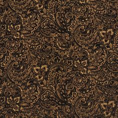 Black and Gold or Yellow color Floral and Paisley pattern Chenille and Fade Resistant type Upholstery Fabric called ONYX by KOVI Fabrics Upholstery Repair, Upholstery Tacks, Upholstery Cushions, Upholstery Cleaner, Furniture Upholstery, Upholstery Fabrics, Funky Furniture, Chair Fabric, Living Room Upholstery