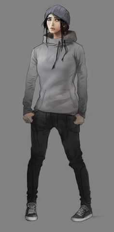 Art of Dreamfall Chapters: Reborn. Zoë Castillo - original Storytime outfit.