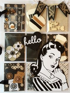 Retro Pocket Letter by Jackie Benedict