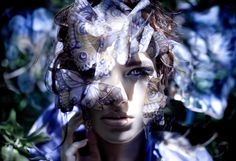 'Danaus - The Butterfly Queen' (2010)  Wonderland Series, Kirsty Mitchell Photography