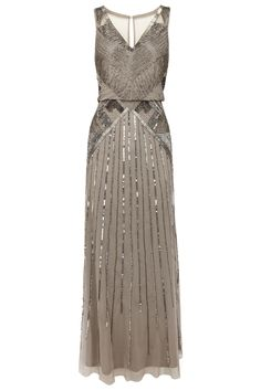 Art Deco Style Coast Evening Dress