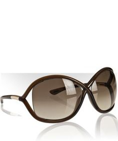 Tom Ford Sunglasses! I have the knock-offs and love them!! This way I won't feel so bad when I break or misplace them ($315 down the drain, no thank you!).