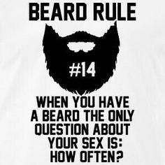 Beard rule#14