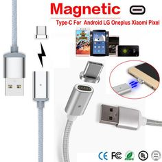 Reliable High Speed Charge Magnetic USB Charger Cord Sync Data Cable Type-C Micro USB For Android //Price: $US $4.96 & FREE Shipping //     #samsung