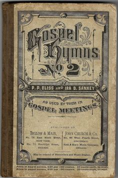 Gospel Hymns No. 2 from thecollectiblechest on Etsy
