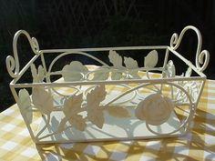 Lovely cottage herb basket