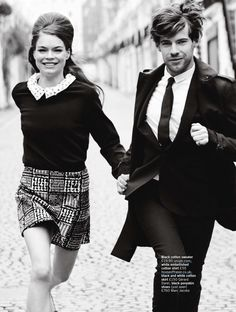 Estelle Yves and Harry Treadaway by Chris Craymer for UK Glamour June 2013 6