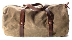Huckberry | Bradley Mountain | Weekender Duffle (Field Tan) Crossbody Clutch, Clutch Wallet, Backpack Bags, Tote Bag, Fashion Updates, Made Goods, Leather Shoes, Leather Bags, Bradley Mountain
