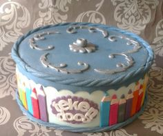 Drawing box cake
