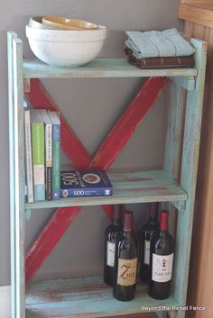 Beyond The Picket Fence: Pallet Bookshelf