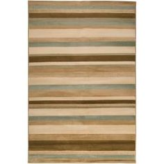 Artistic Weavers Ruger Brown Rectangular Indoor Woven Area Rug (Common: 8 x Actual: W x L x Dia)