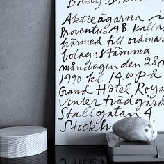 Mats Gustafson Mats Gustafson, Typography, Black And White, Home Decor, Interiors, Illustrations, Photos, Letterpress, Decoration Home
