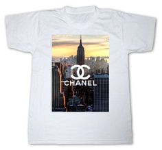 233af49537 CHANEL New york nyc LIMITED DIY swag tumblr dope hipster t-shirt shirt top  unisex