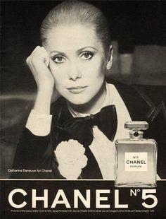 1975 Beauty AD Chanel NO 5 Catherine Deneuve