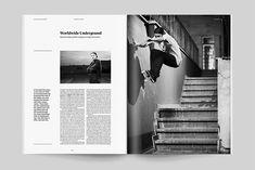 Designers Bookshop – Color Magazine - Redesign, Sports Magazine