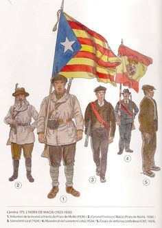 MILITARY MINIATURES BY ALFONS CÀNOVAS: SOLDATS (Nº 17) DELS CATALANS COUNTRIES