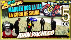 POP LIFE Arma 3 #5║Manueh nos la lia, la coca se salva║Gameplay Español ...