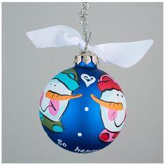 Glory Haus So Happy Together Ornament | underthecarolinamoon.com #HappyTogether #SoHappy #ChristmasOrnament #Christmas #Snowman #SnowmanOrnament #UTCM #UnderTheCarolinaMoon