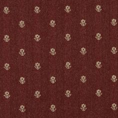 Spice Petal Burgundy and White Country  Tweed Upholstery Fabric