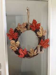 Fall wreath  Get started with this project with great materials from Old Time Pottery!  www.oldtimepottery.com
