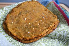 AIP Pita Bread using sweet potato flour (available at ethnic markets) and gelatin 1 tsbp gelatin = 2 tbsp agar flakes = 1 tsp agar powder.
