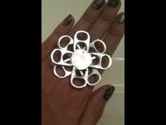 ♻ How To Make Recycled Pop Tab Jewelry - Craft Tutorial 13 (Soda Tab Bracelet Tutorial) - YouTube