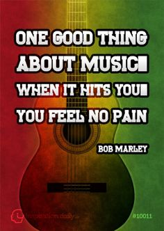It does feel like this because some songs feel like they are speaking to me directly. And I love Bob Marley