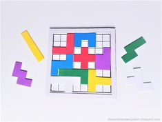 pentominoes puzzle game for 2 Diy Games, Games For Kids, Puzzle, Games For Children, Puzzles, Puzzle Games, Riddles