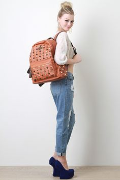 Plain Hierarchy Backpack #studmuffin