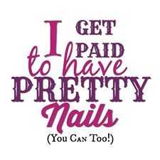 I get paid to have pretty nails - you can too! Color Street nails are perfect for a Friday night out with the girls, a party, game night, or just running errands. Color Street is great for short or long nails, over acrylic. Strips will last much longer t American Manicure, Street Marketing, Nail Polish Strips, Jamberry Nail Wraps, Color Street Nails, Rarity, Love My Job, Nail Manicure, Swag Nails