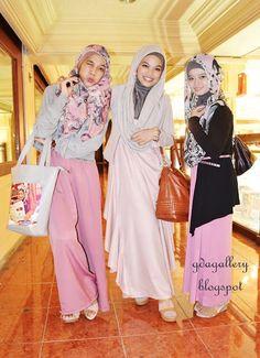 Muslim Girls wearing Hijab