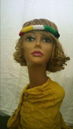 Afro-caribbean colors headband