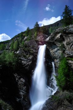 Lillaz, Italy, Cogne, province of Aosta, Valle d'Aosta