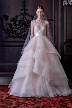 A melhor seleção dos vestidos de noiva da New York Bridal Week Primavera 2016 Image: 15