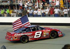 Who could forget this. Right after 9/11, Jr wins at Dover.