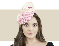 Jane Taylor London - Jasmine - Pink and Ivory Types Of Hats 985ce2ea172a