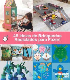Presentear a criança com brinquedos artesanais é uma opção agradável e divertida tanto para o