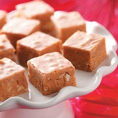 Butterscotch Peanut Fudge