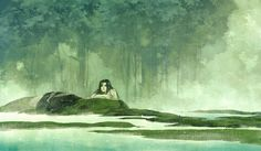 Kai Fine Art is an art website, shows painting and illustration works all over the world. Anime Fantasy, Fantasy Art, Manga Story, Ancient Beauty, Soul Art, Anime Scenery, Chinese Art, Chinese Style, Asian Art