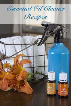 essential oil cleaner recipes